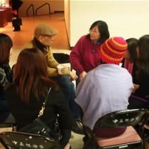 茶會現場記者專訪安井老師