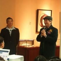 河野主任代表日本交流協會致詞