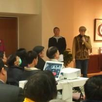 安井老師感謝這兩年台灣各界的支持